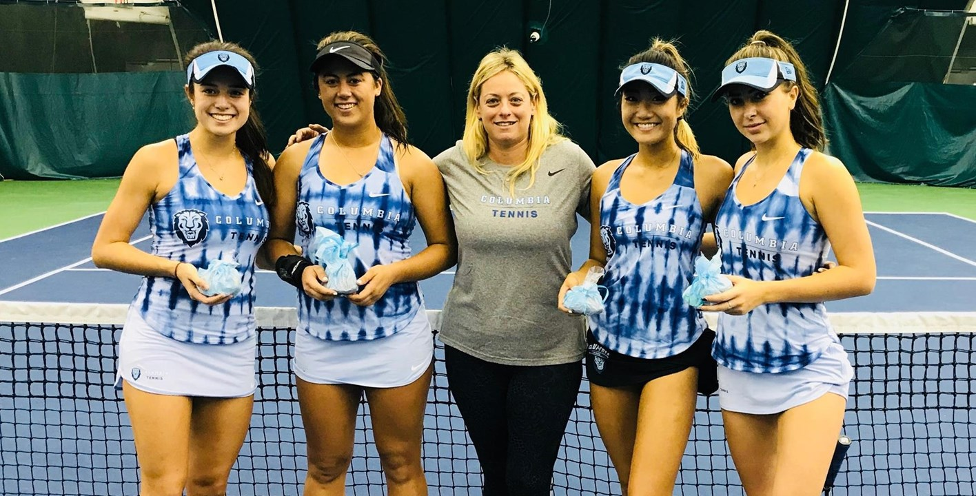 Lions Capture Six Titles At Columbia Women S Tennis Invitational