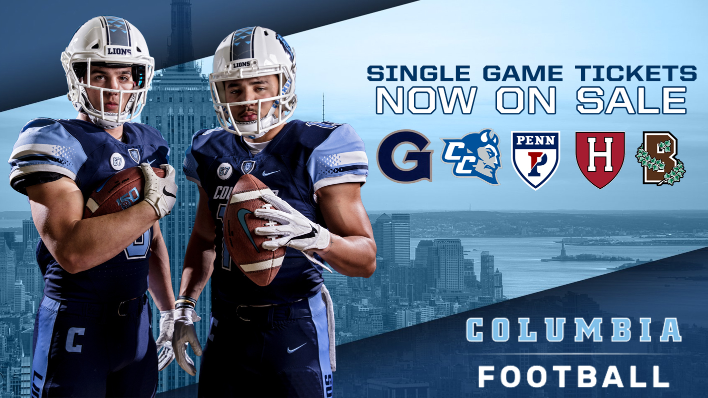Football Single Game Tickets Now On Sale